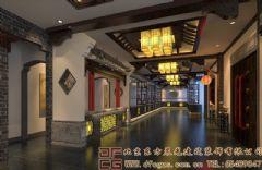 古雅儒韵的中式酒店装修设计案例酒店装修图片