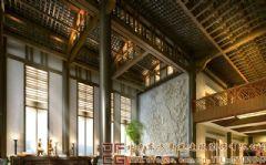 舒适休闲的中式酒店装修设计案例酒店装修图片