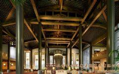 舒适休闲的中式酒店装修设计案例