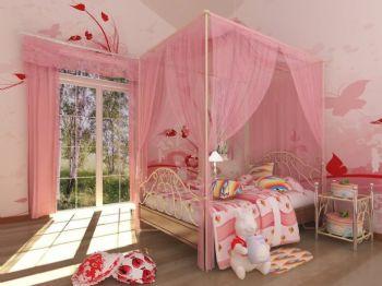 粉色搭配设计让家人温暖整个冬季现代儿童房装修图片