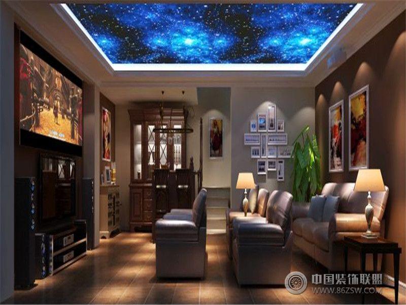 成都尚层装饰别墅装修欧式风格案例效果图欣赏(六)