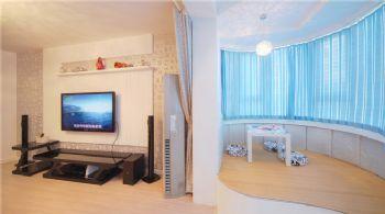 156平现代简约复式宜居现代客厅装修图片