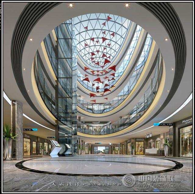 城市綜合體效果圖|個性魅力城市綜合體效果圖商場裝修圖片