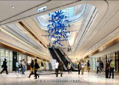 城市综合体效果图|个性魅力城市综合体效果图商场装修图片