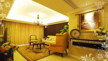 低调家居设计图田园客厅装修图片