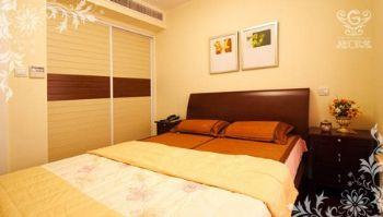 低调家居设计图田园卧室装修图片