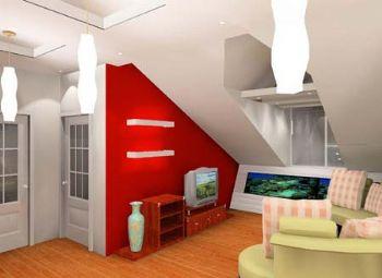 阁楼装修效果图现代卧室装修图片
