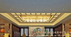大气高雅的中式酒店装修设计效果