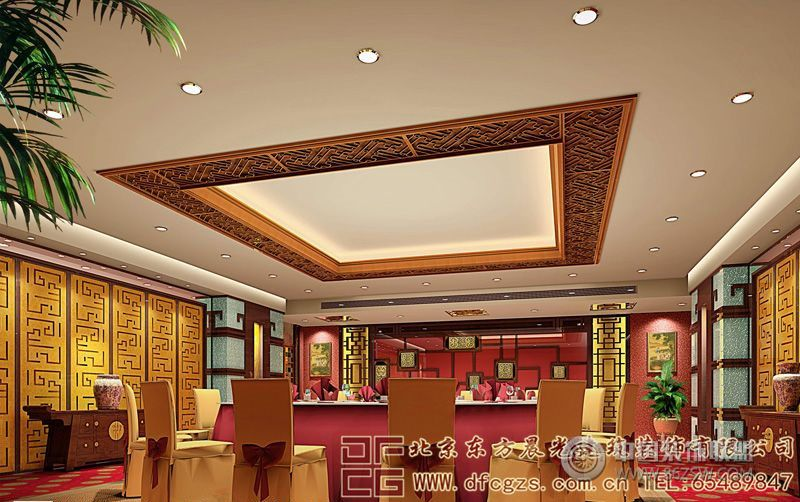 奢华格调的中式酒店装修设计案例 单张展示 酒店装修效果图 八六 中国