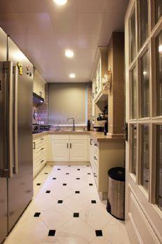 94平简欧美居的温馨欧式厨房装修图片