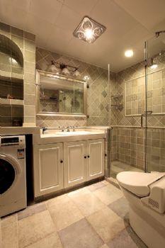 94平简欧美居的温馨欧式风格卫生间装修图片