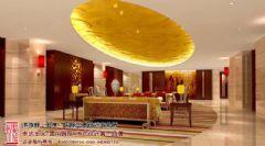 古典风情的中式酒店装修设计案例赏析酒店装修图片