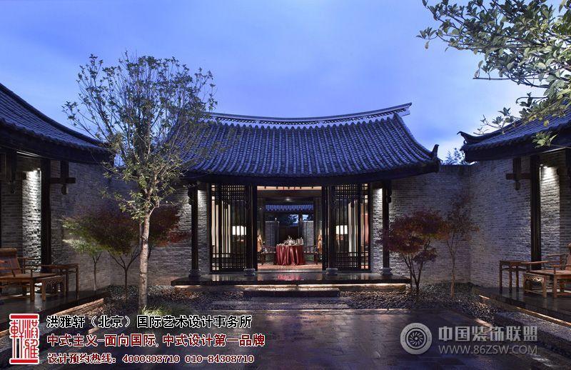 设计施工;提供四合院,中式别墅