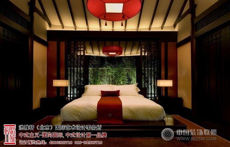 清新雅致的中式酒店裝修設計案例賞析