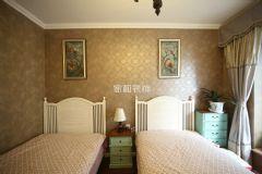 成都家和装饰装修案例-华侨城天鹅堡美式卧室装修图片