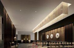 气势恢弘的中式酒店装修设计案例酒店装修图片