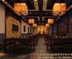 浓浓古韵的中式酒店装修设计案例图酒店装修图片
