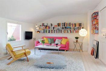 60平小户型装修案例现代客厅装修图片