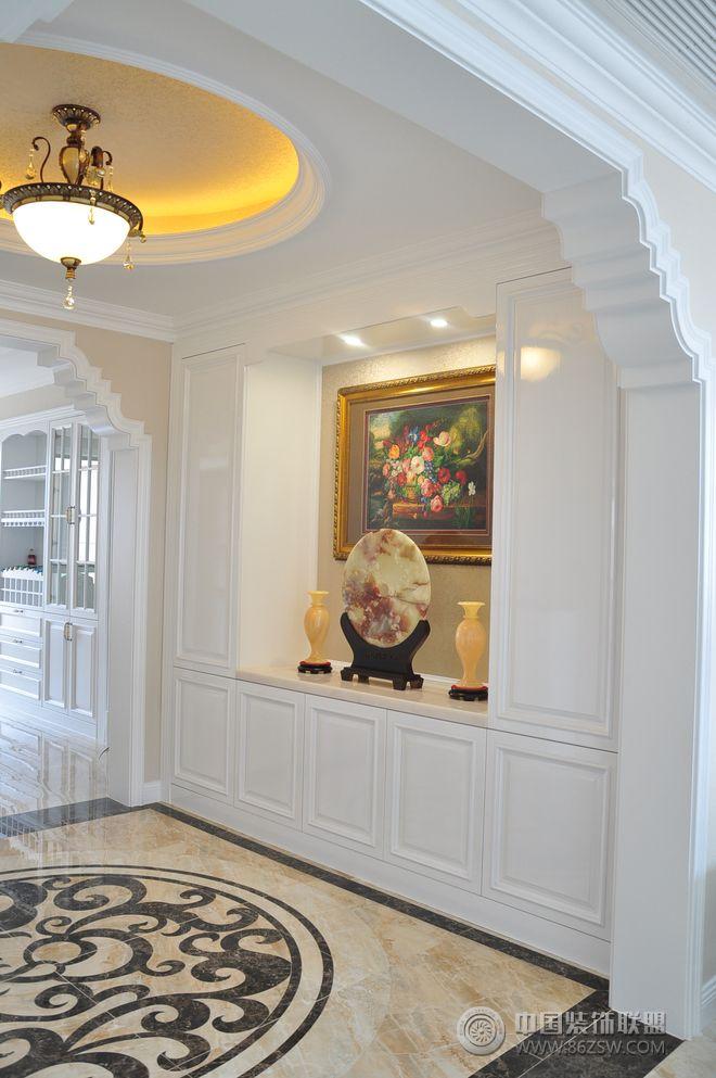156平欧式奢华公寓-客厅装修效果图-八六(中国)装饰