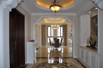 156平欧式奢华公寓欧式餐厅装修图片