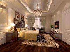成都尚层装饰别墅装修设计师推荐欧美风格案例欣赏(七)美式客厅装修图片