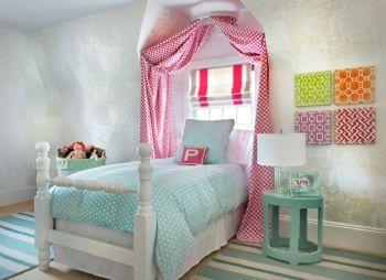 童趣儿童房设计图田园儿童房装修图片