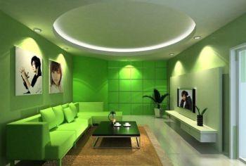 客厅软装搭配效果图田园客厅装修图片