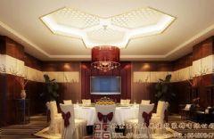 奢华浓郁的中式酒店设计效果图酒店装修图片