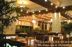 华贵优雅的中式餐厅装修设计图