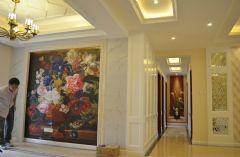 世茂运河城185平 奢华欧式 完工实拍《枫雅媛媛更新》欧式客厅装修图片