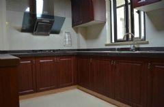 世茂运河城185平 奢华欧式 完工实拍《枫雅媛媛更新》欧式厨房装修图片