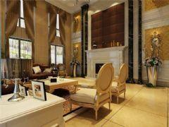 成都尚层装饰别墅装修设计师案例推荐欧美风格效果图(八)美式风格别墅