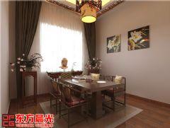中式别墅装修设计图独具匠心中式餐厅装修图片