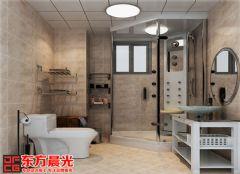 中式别墅装修设计图独具匠心中式卫生间装修图片