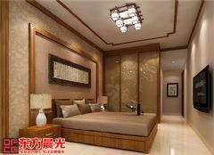 中式别墅装修设计图独具匠心中式卧室装修图片