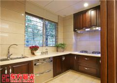 中式别墅装修设计图独具匠心中式厨房装修图片
