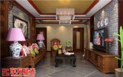 古典中式别墅装修设计风采迷人中式客厅装修图片