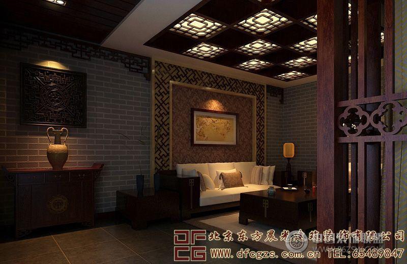 古典雅致的中式酒店装修设计效果图图片