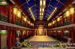 古典雅致的中式酒店装修设计效果图
