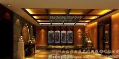 温馨高雅的中式餐厅装修设计效果图酒店装修图片