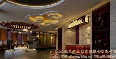 温馨高雅的中式餐厅装修设计效果图