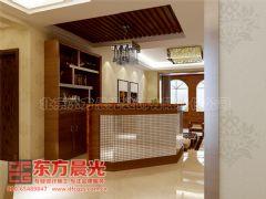 中式别墅装修设计自然优雅中式客厅装修图片