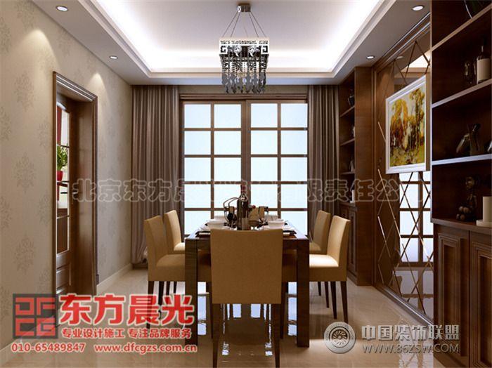 中式别墅装修设计自然优雅 餐厅装修图片