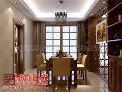 中式别墅装修设计自然优雅中式餐厅装修图片
