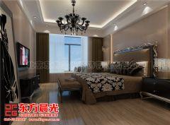 质朴亲切的中式别墅装修设计简约卧室装修图片