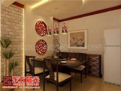 唯美风简约中式装修家装设计中式餐厅装修图片
