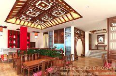 唯美雅致的中式酒店装修设计案例