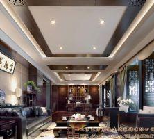 富丽新颖的中式酒店装修设计案例酒店装修图片