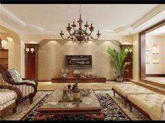 成都尚层装饰别墅装修设计师推荐欧美风格案例欣赏(九)美式风格大户型