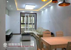 中海御景湾 88平方 A1户型装修完工图现代餐厅装修图片